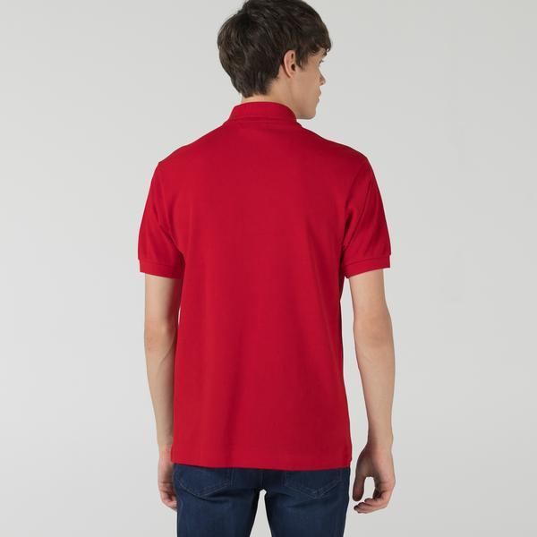 Lacoste Erkek Classic Fit L1212 Kırmızı Polo