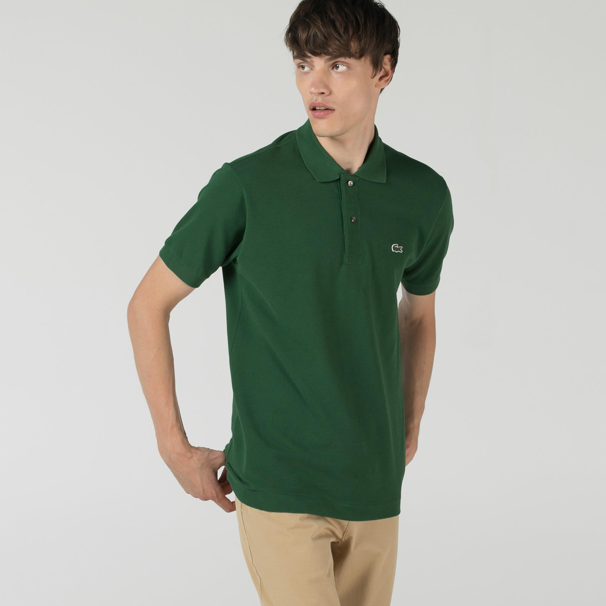 Lacoste Erkek Classic Fit L1212 Yeşil Polo