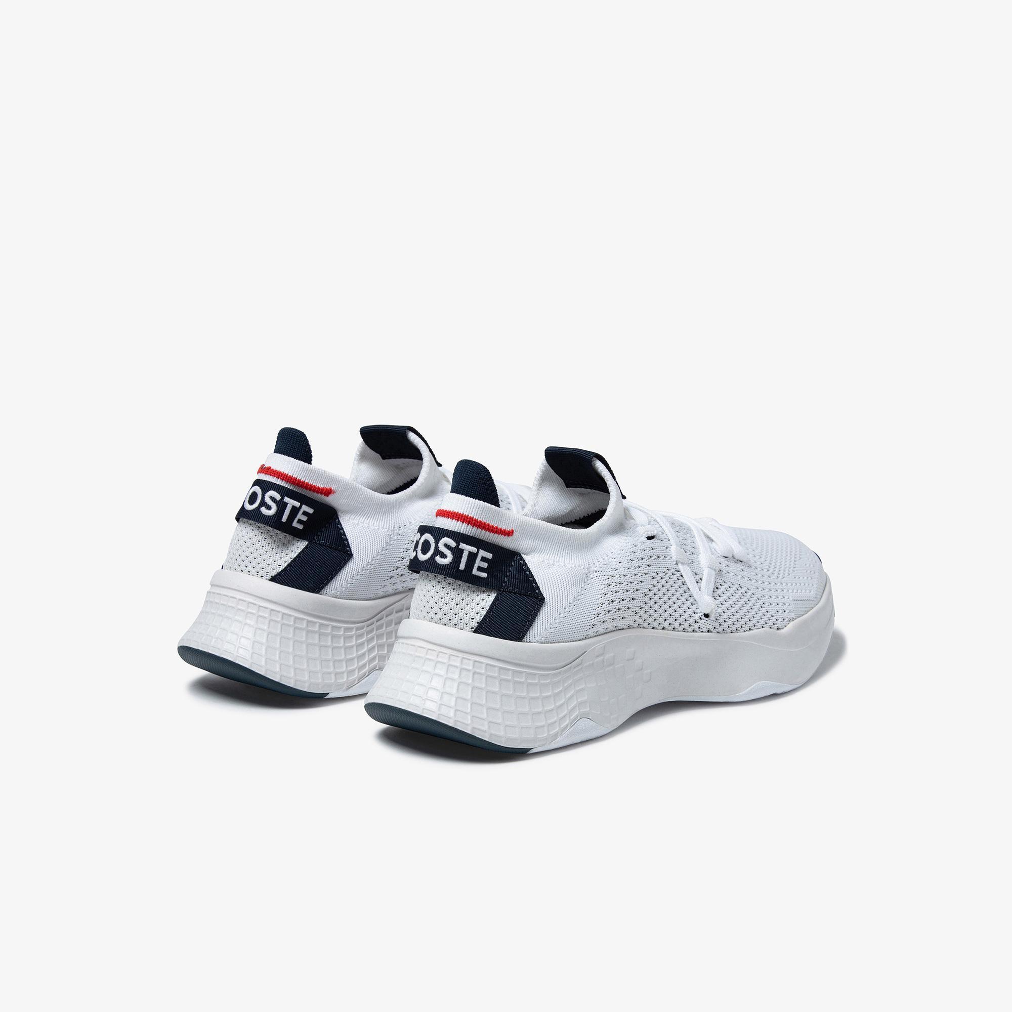 Lacoste Court-Drive Knit 0121 2 Sma Erkek Renkli Sneaker
