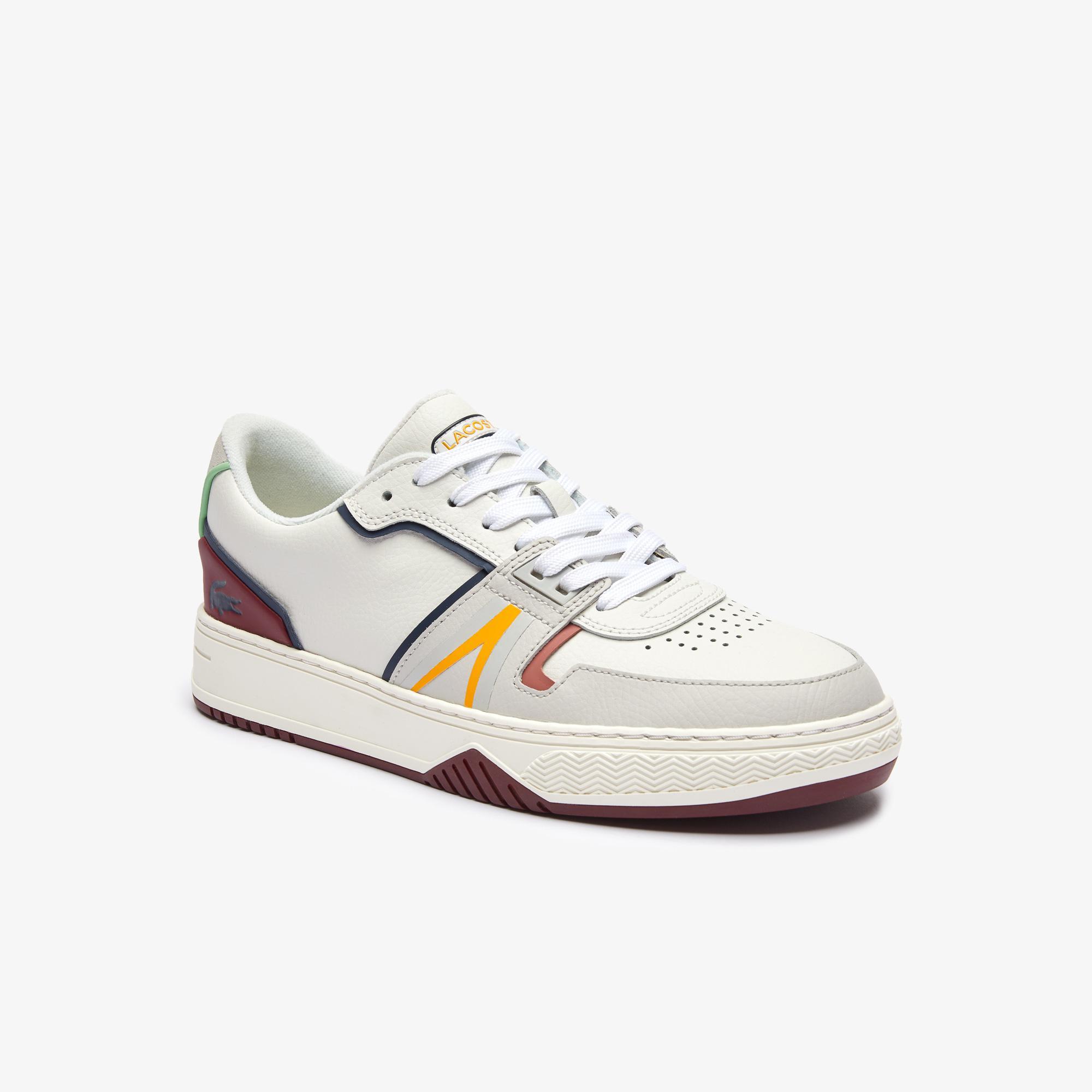 Lacoste L001 0321 1 Sma Erkek Deri Beyaz Sneaker