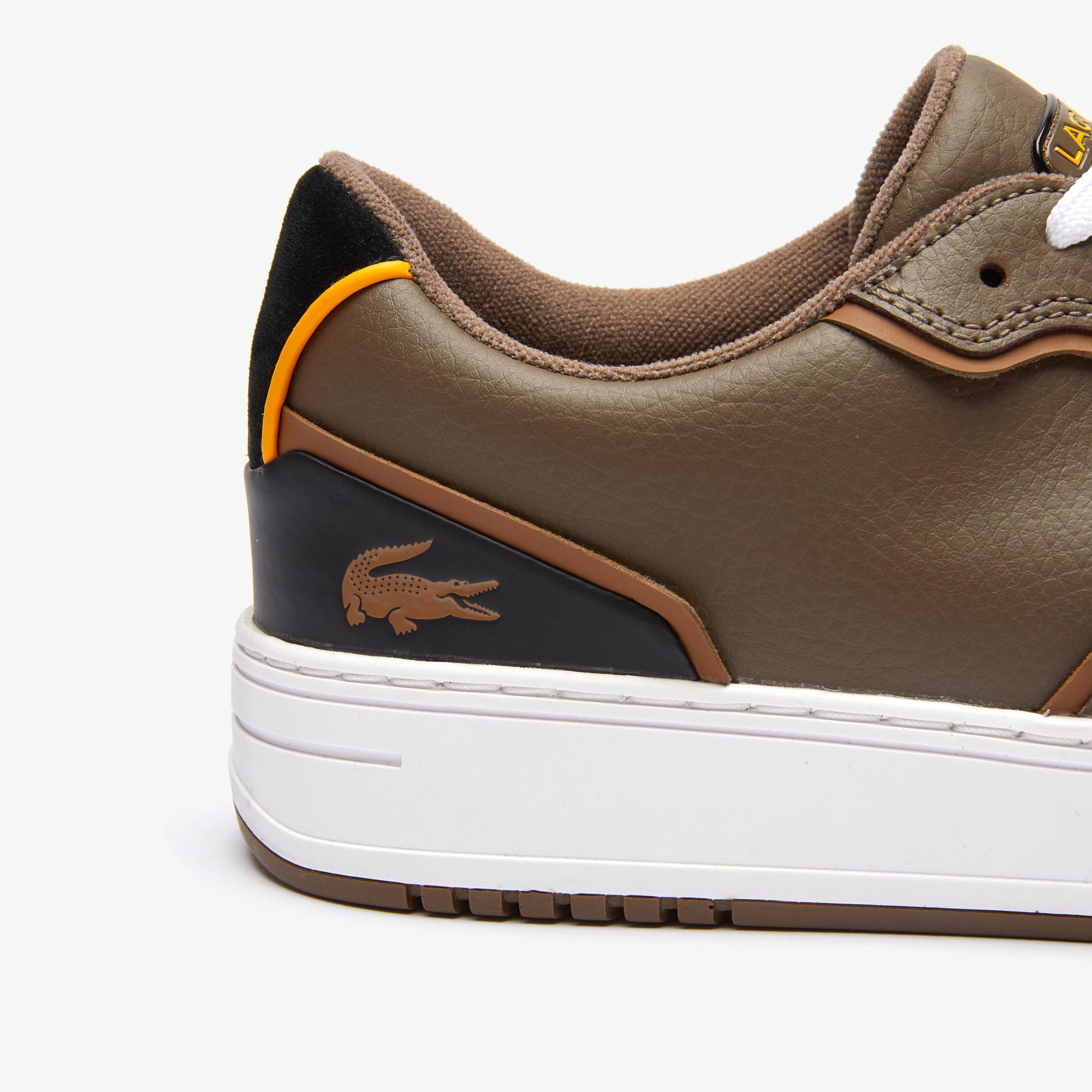 Lacoste L001 0321 1 Sma Erkek Deri Kahverengi - Siyah Sneaker