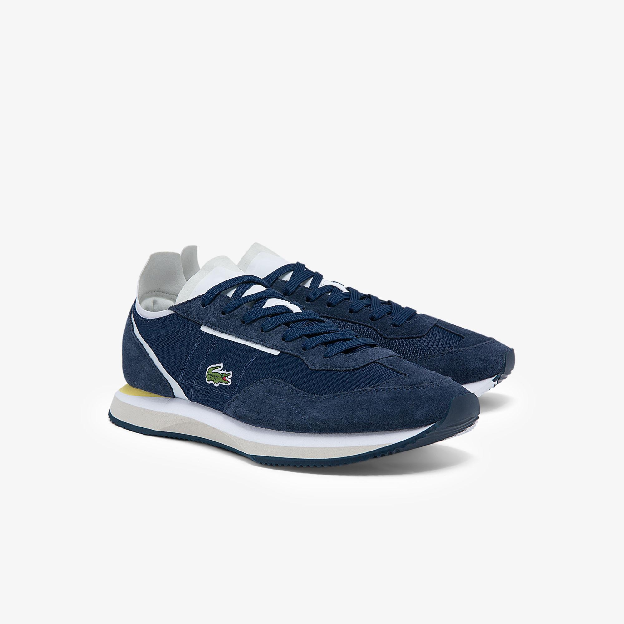 Lacoste Match Break 0121 3 P Sma Erkek Lacivert Sneaker