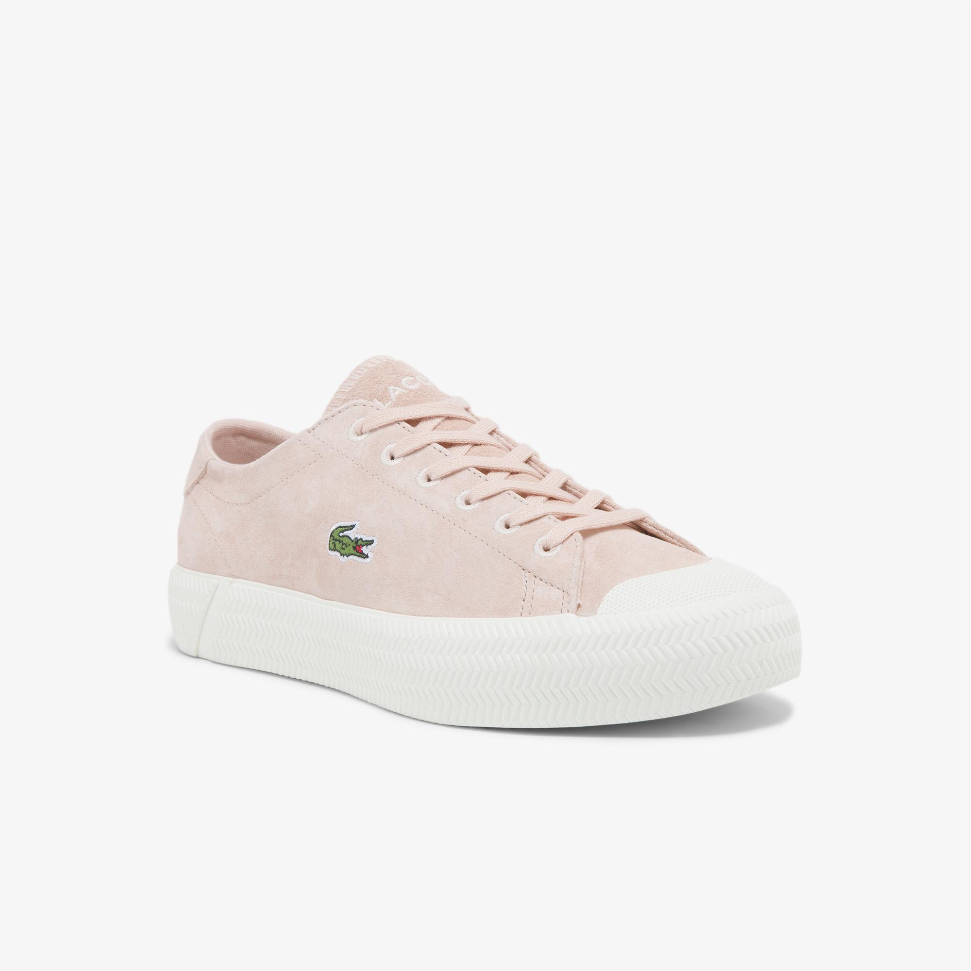 Lacoste Gripshot 0321 1 Cfa Kadın Deri Pembe - Beyaz Sneaker