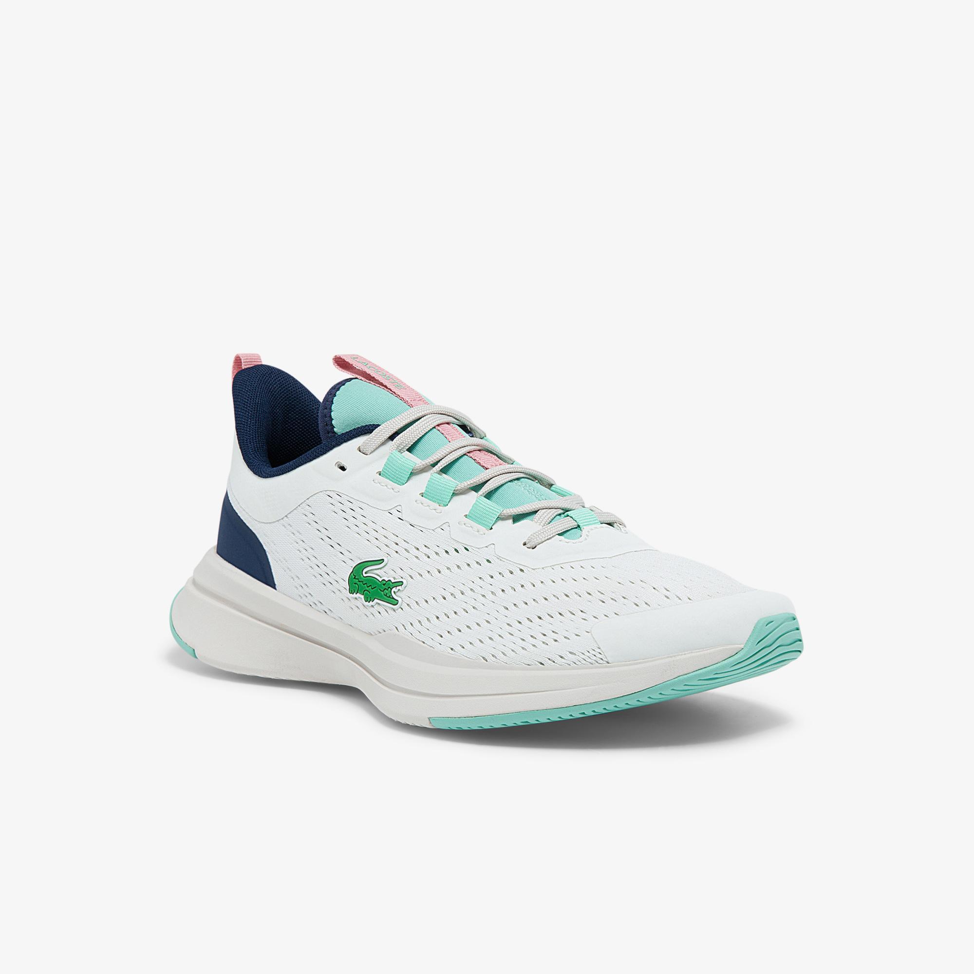 Lacoste Run Spin 0121 1 Sfa Kadın Beyaz - Mavi Sneaker