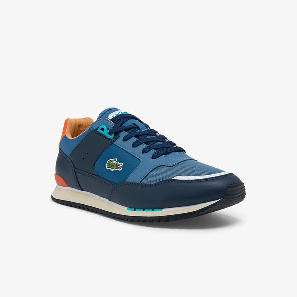 Lacoste Men's Partner Piste Synthetic and Textile Sneakers