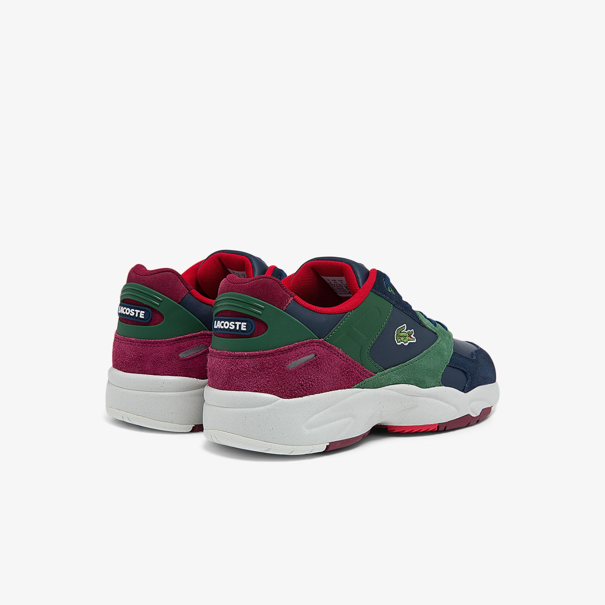 Lacoste Storm 96 Lo 0121 1 P Sma Erkek Lacivert - Yeşil Sneaker