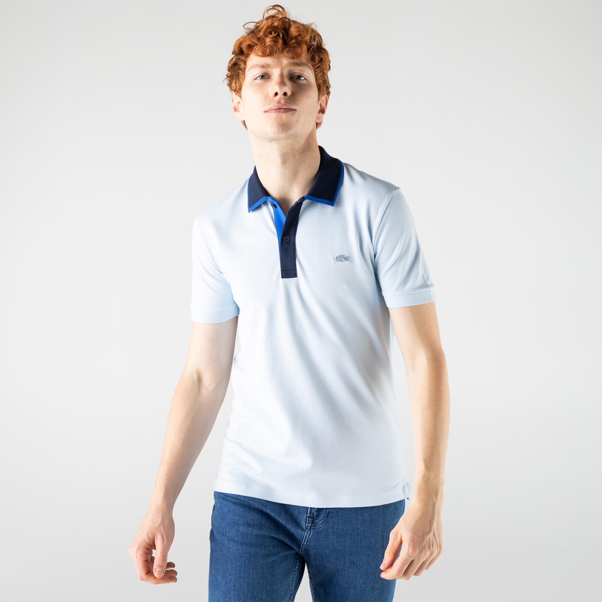 Lacoste Erkek Mavi Polo