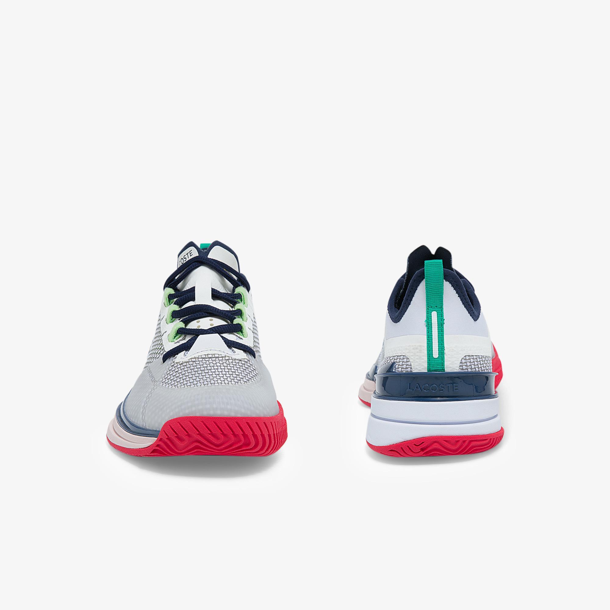 Lacoste Ag-Lt21 Ultra 0921 1 Sfa Kadın Beyaz - Mavi Sneaker