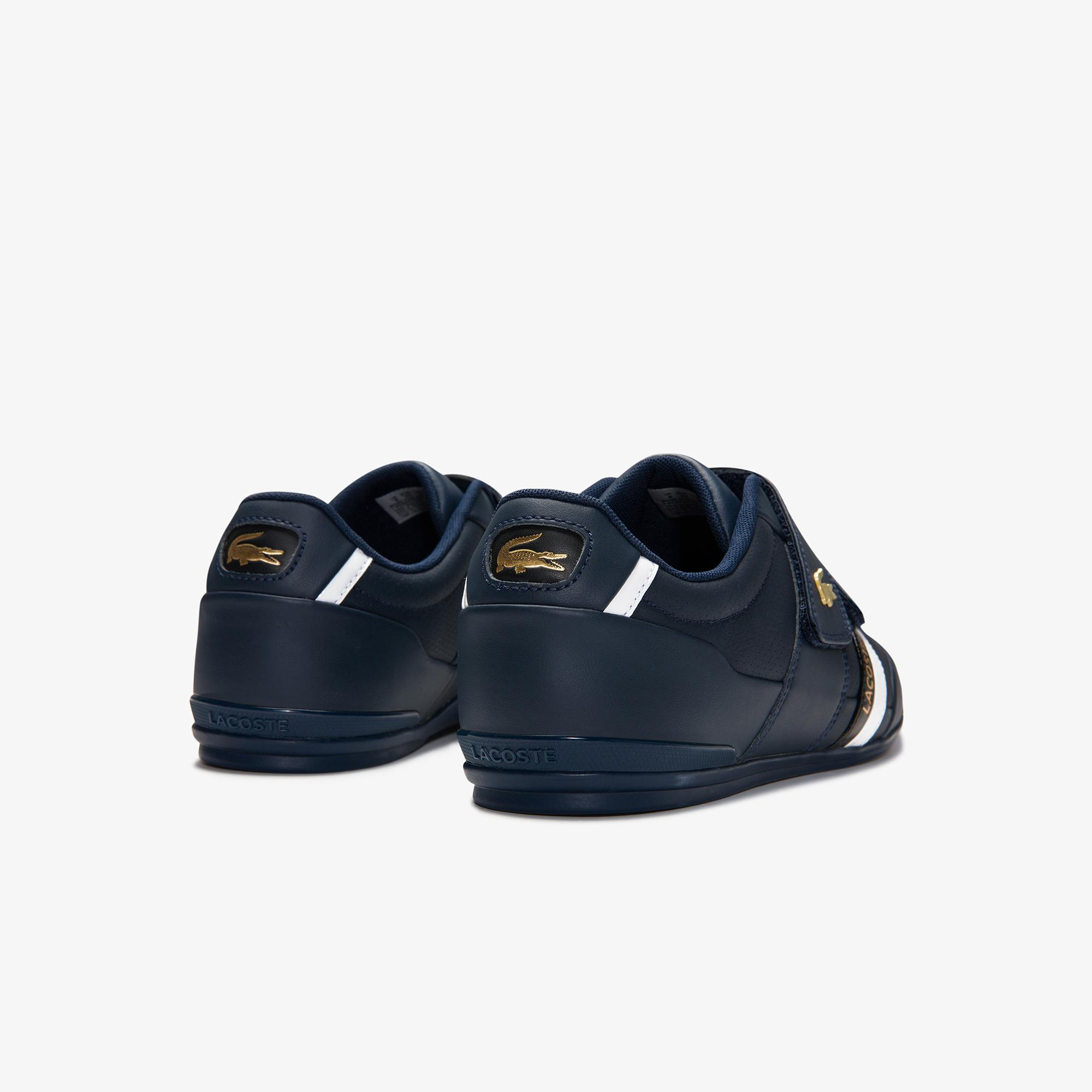 Lacoste Misano Strap 0120 1 Cma Erkek Lacivert - Siyah Sneaker