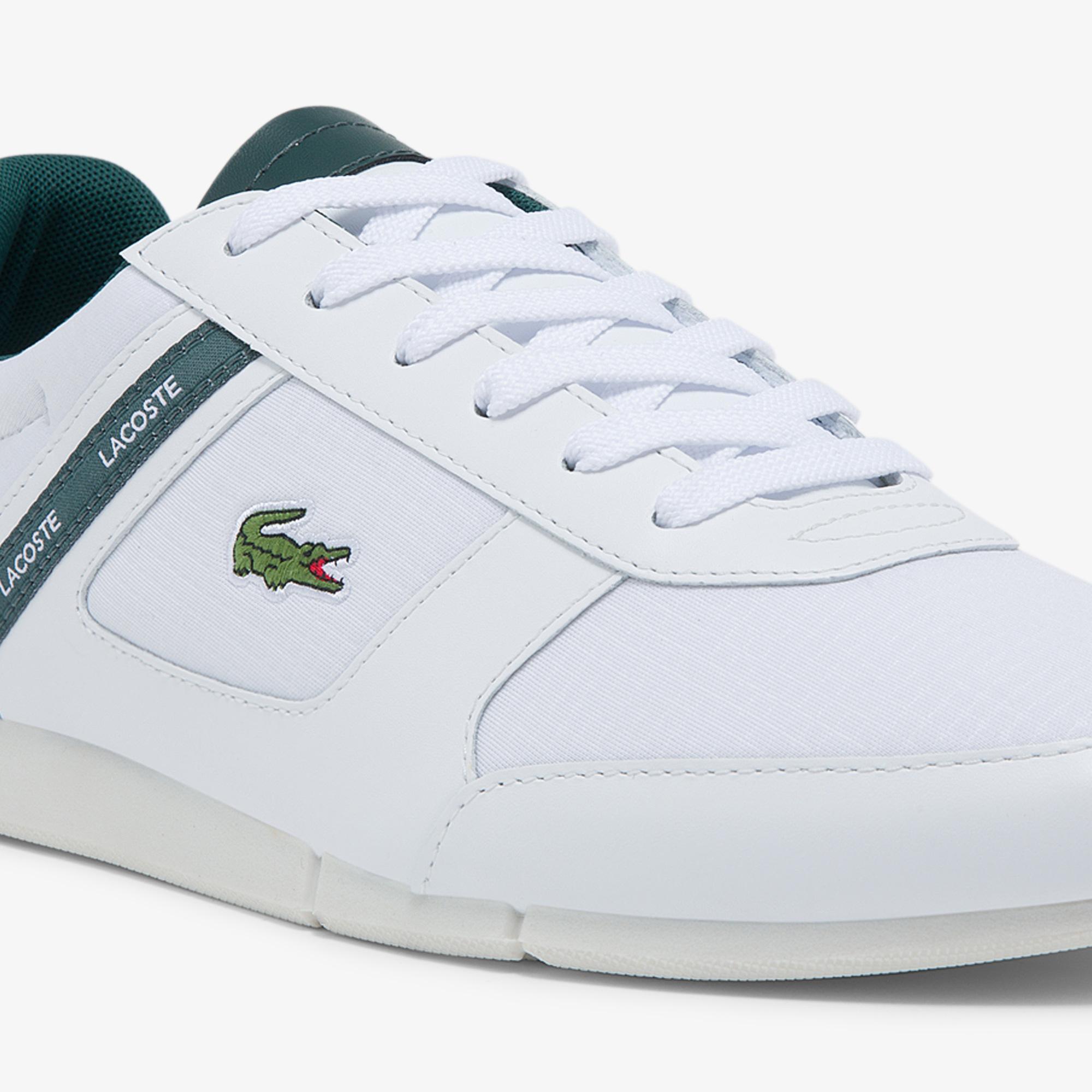 Lacoste Menerva Sport 0121 1 Cma Erkek Beyaz - Yeşil Sneaker