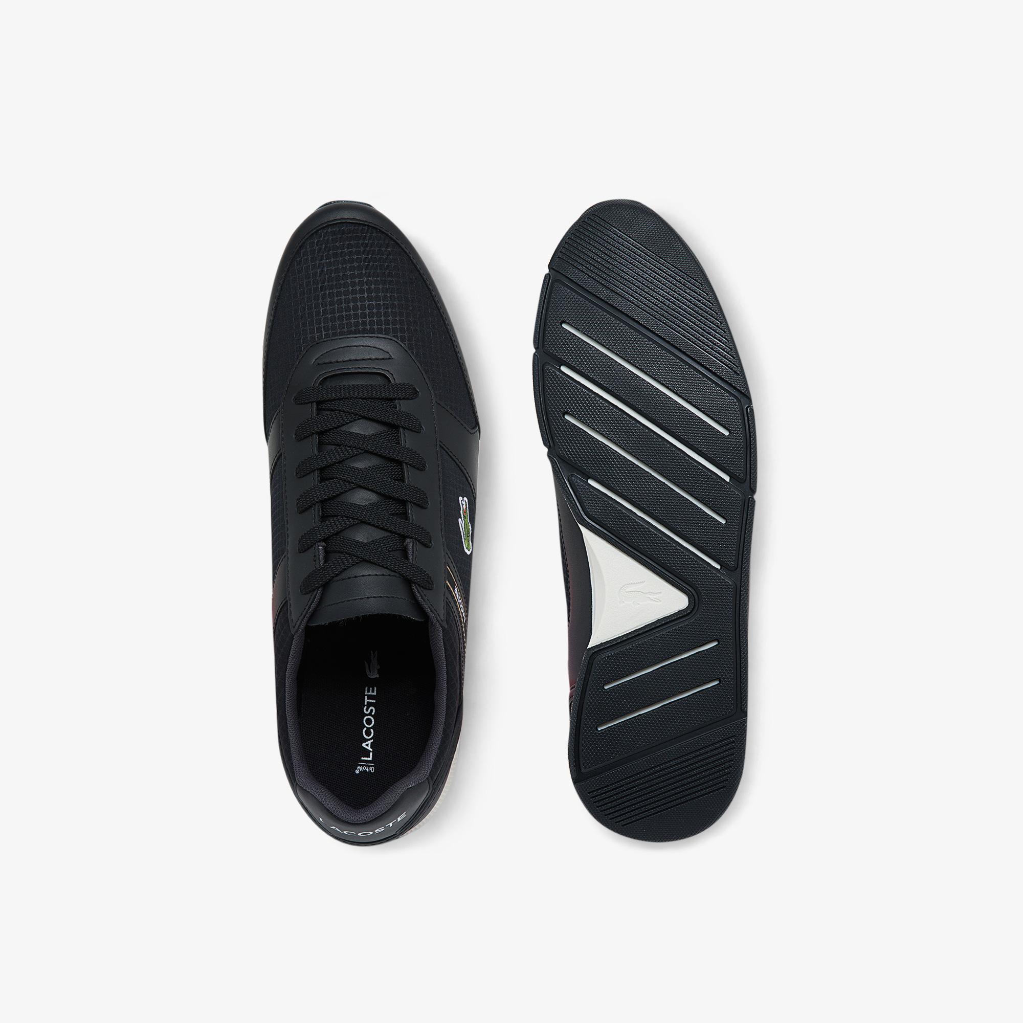 Lacoste Menerva Sport 0121 1 Cma Erkek Siyah - Beyaz Sneaker