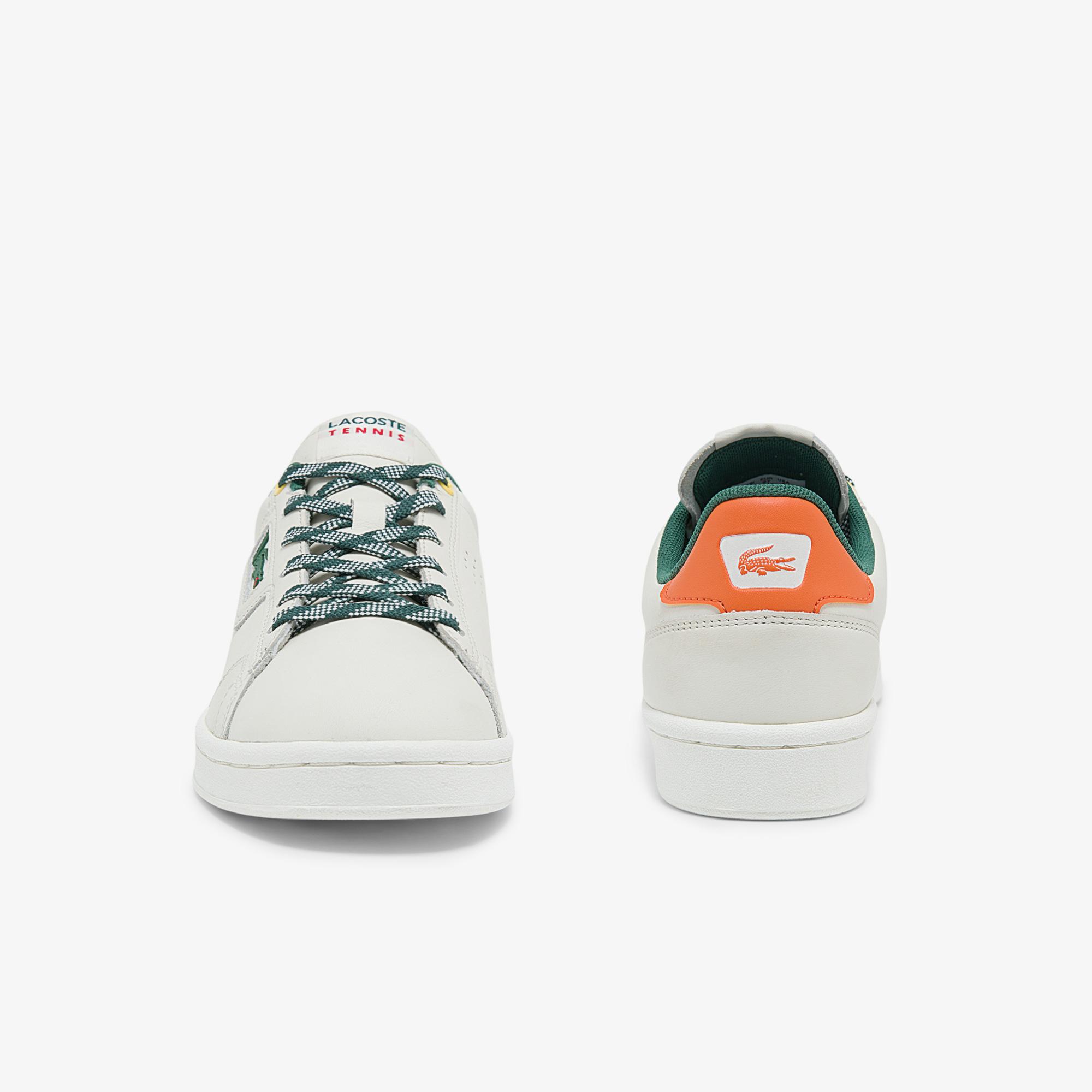 Lacoste Masters Classic 01213 Sfa Kadın Beyaz - Yeşil Sneaker