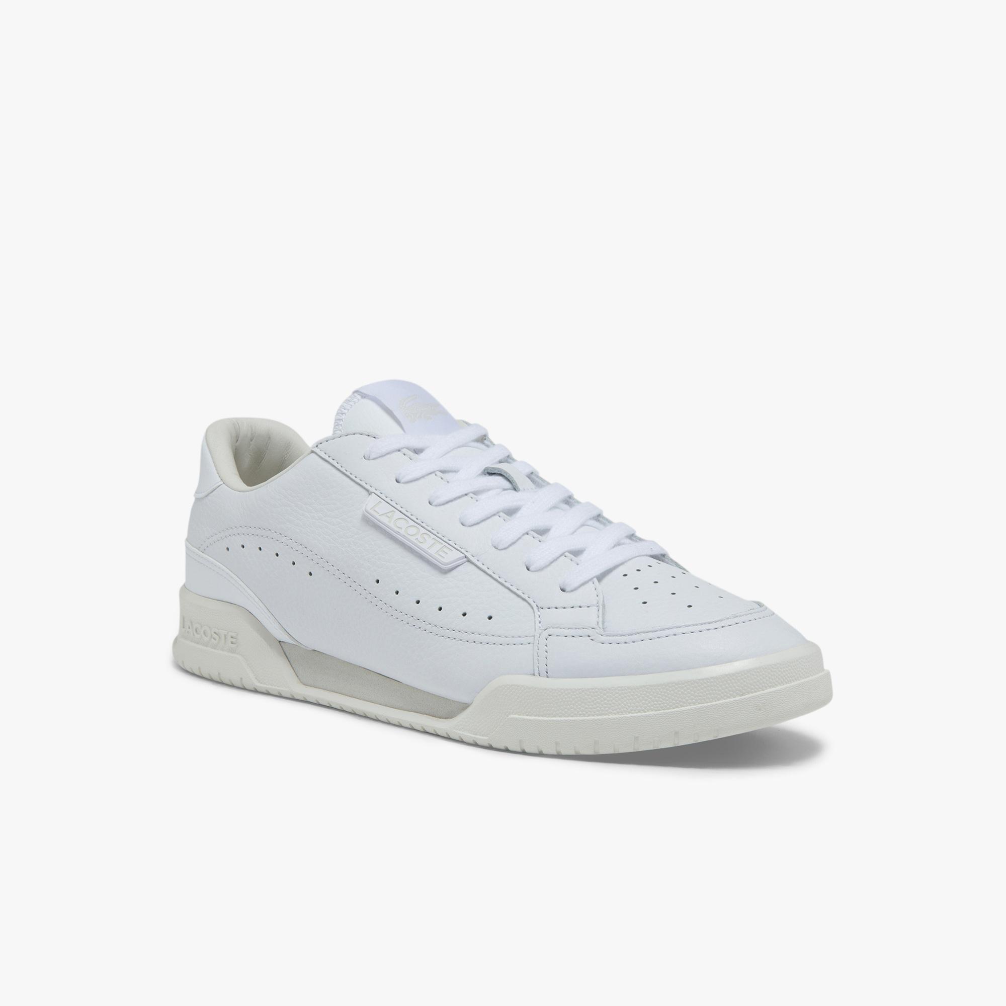 Lacoste Twin Serve Luxe 01211 Sma Erkek Beyaz Sneaker