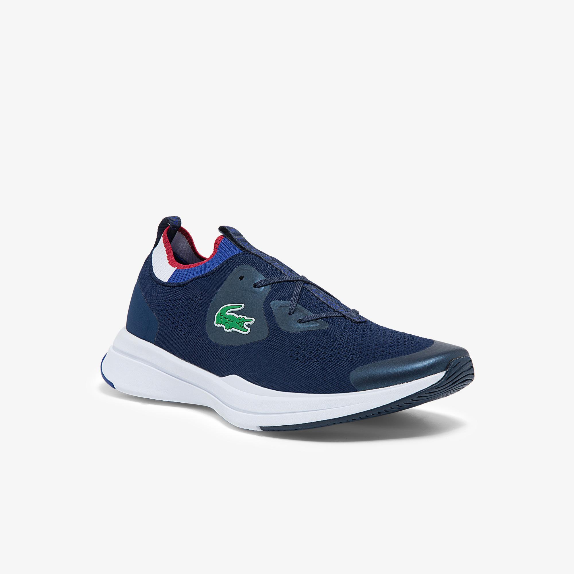 Lacoste Run Spin Knit 0121 1 Sma Erkek Lacivert Sneaker