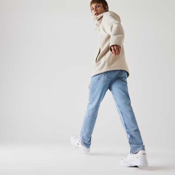 Lacoste Erkek Slim Fit Açık Mavi Pantolon