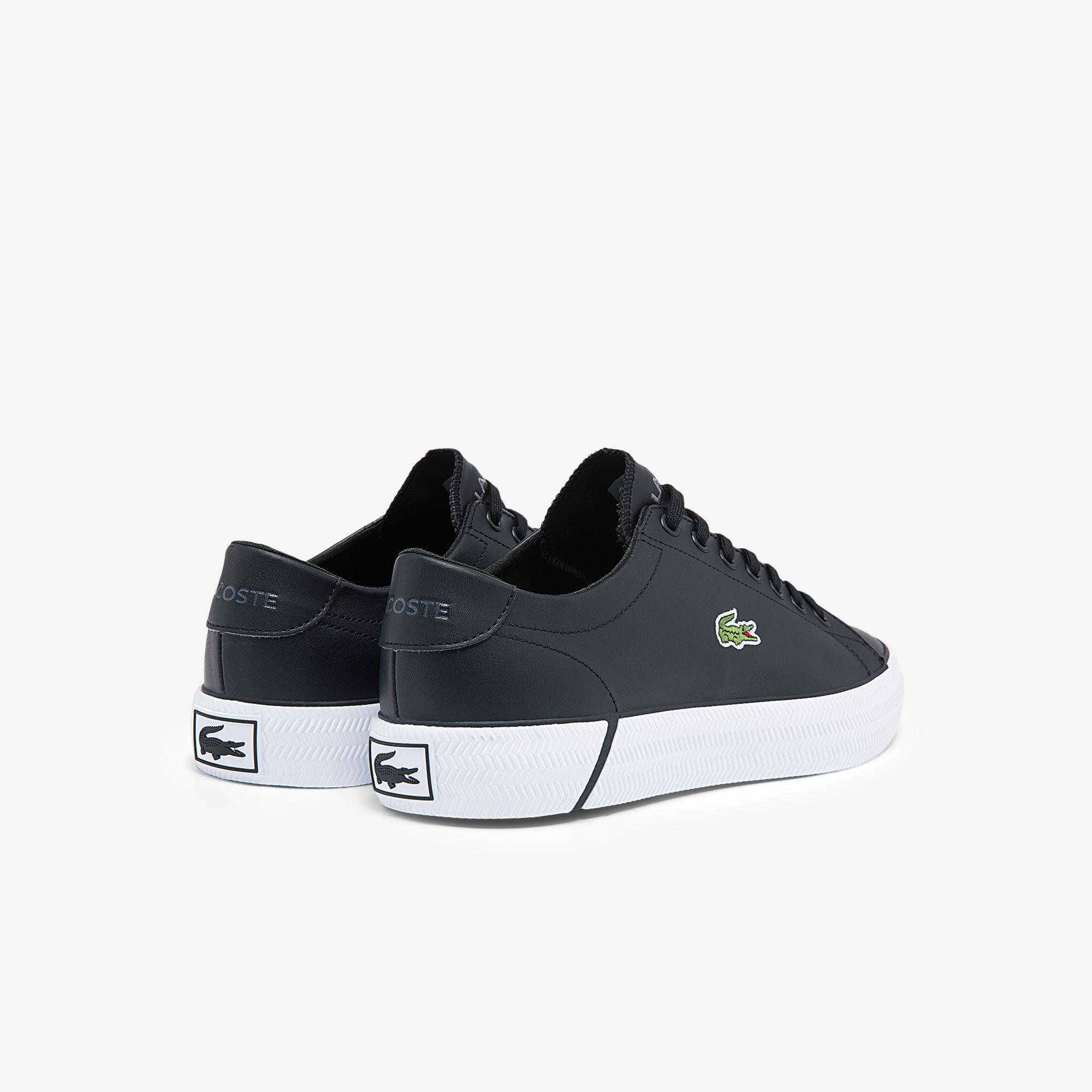Lacoste Gripshot Bl21 1 Cma Erkek Deri Siyah - Beyaz Sneaker