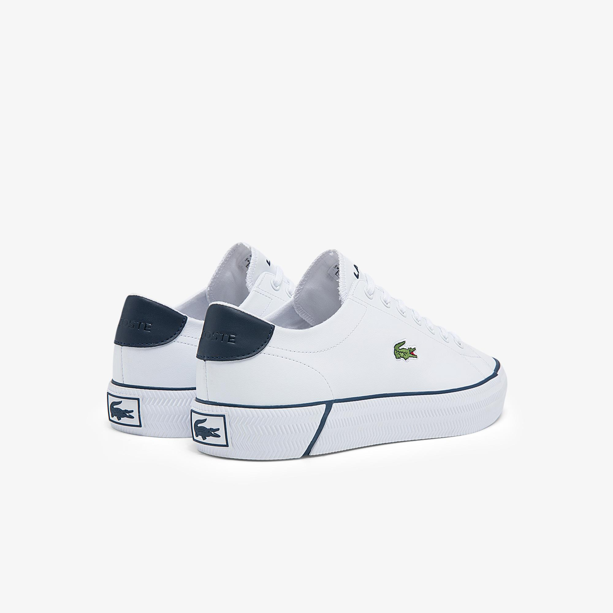 Lacoste Gripshot Bl21 1 Cma Erkek Deri Beyaz - Lacivert Sneaker