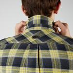 Lacoste Erkek Regular Fit Ekose Sarı Gömlek
