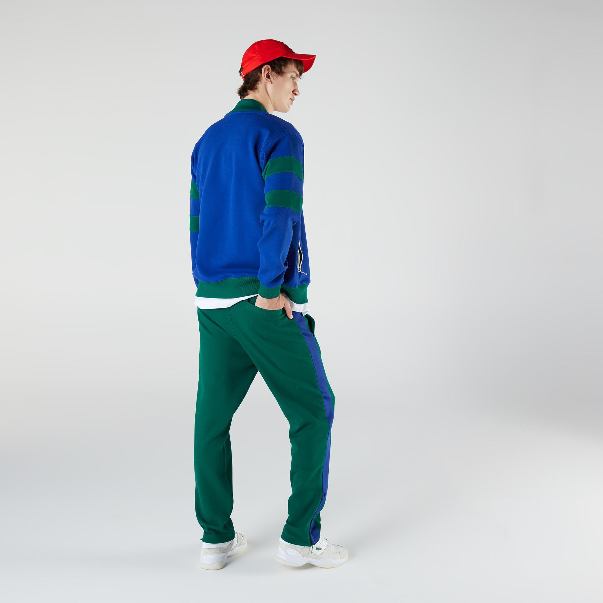 Lacoste Heritage Erkek Regular Fit Yeşil Eşofman Altı