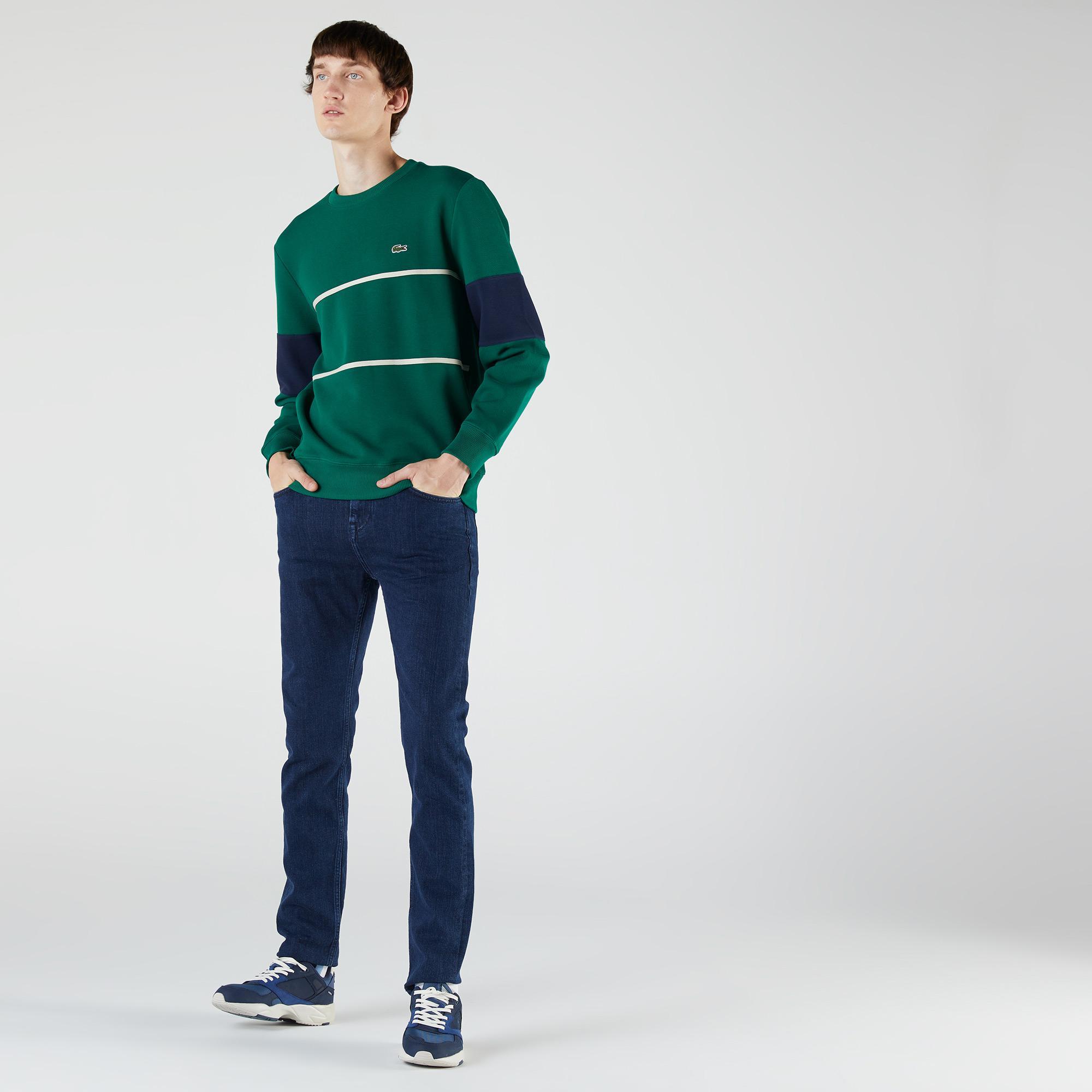 Lacoste Erkek Regular Fit İndigo Denim Pantolon