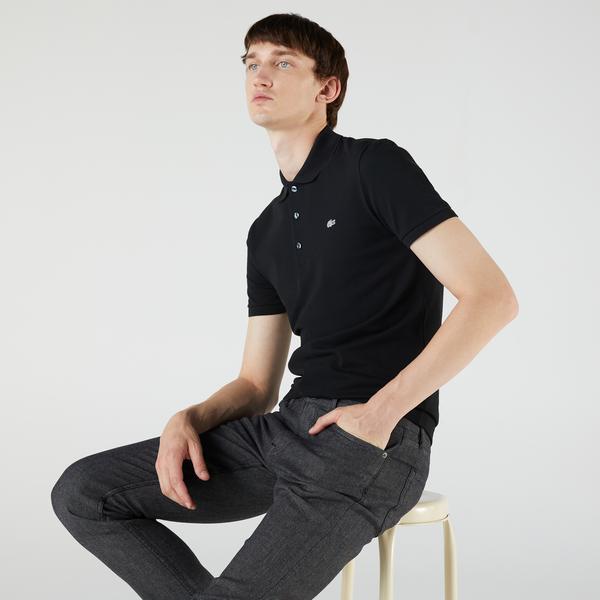 Lacoste Erkek Slim Fit Siyah Polo