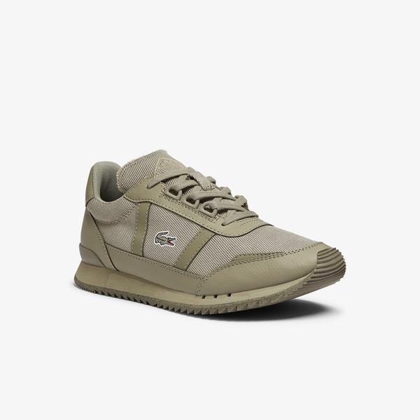 Lacoste Partner Retro 0921 1 Sfa Kadın Haki Sneaker
