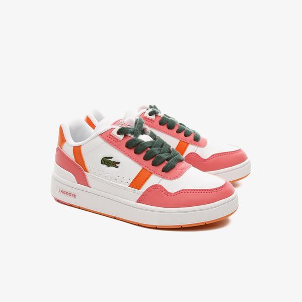 Lacoste T-Clip Çocuk Pembe Sneaker