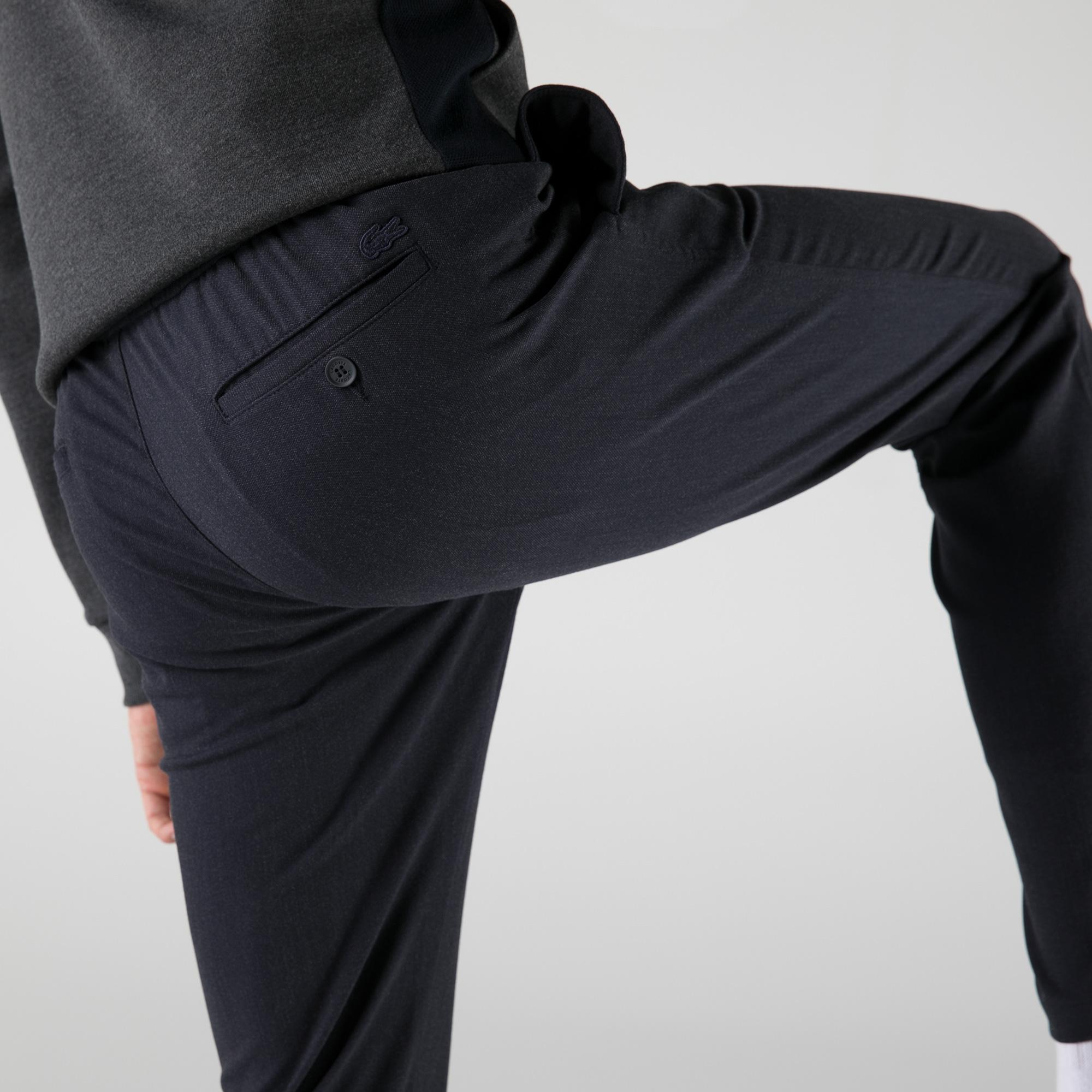 Lacoste Erkek Tappered Fit Lacivert Pantolon