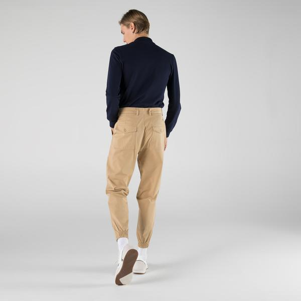 Lacoste Erkek Regular Fit Krem Pantolon