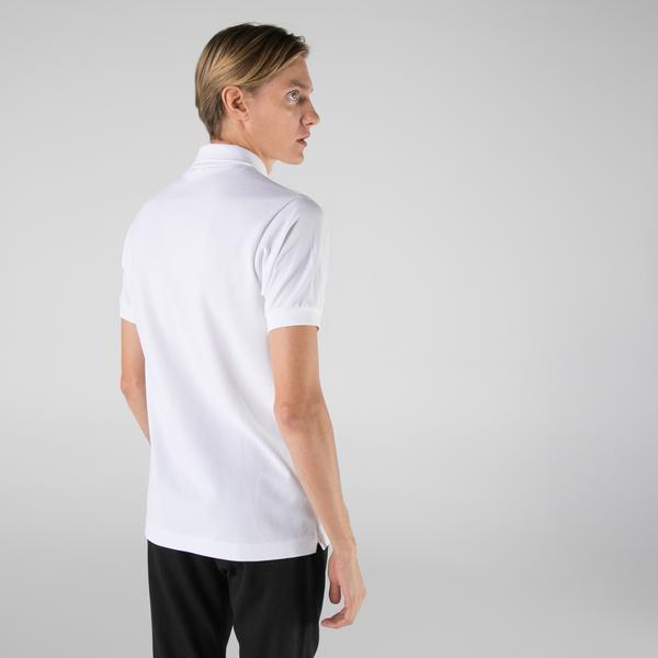 Lacoste Erkek Classic Fit L1212 Beyaz Polo