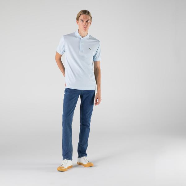 Lacoste Erkek Classic Fit L1212 Açık Mavi Polo